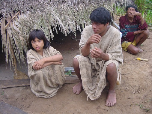Matsigenka Paquirianos - ludzie lasu i rzeki